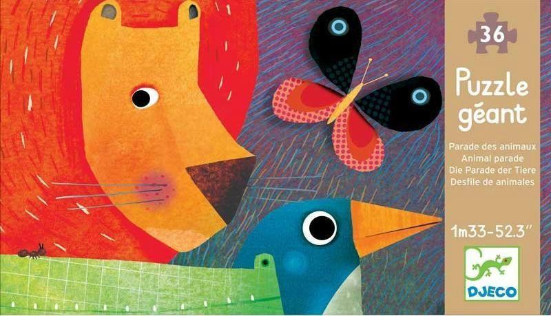 puzzle gigante el desfile de los animales-3070900071711