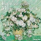 calendario 2014 impresionismo 30x30cm-9783832762544
