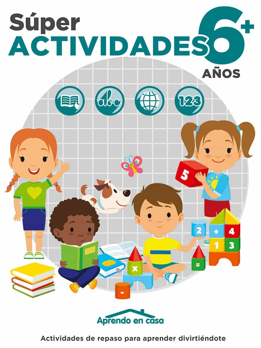 libro actividades (6-7 años) aprendo en casa-8436026776308