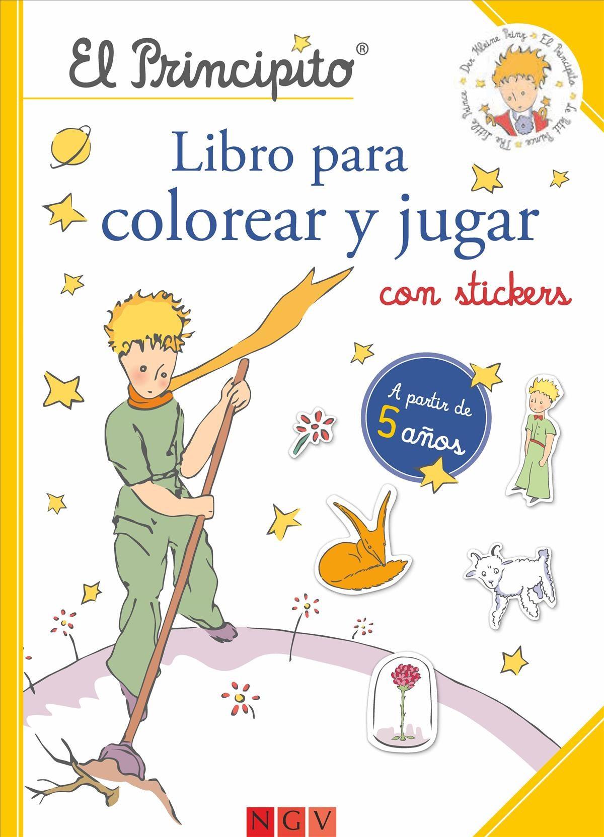 EL PRINCIPITO. LIBRO PARA COLOREAR Y JUGAR | VV.AA. | Comprar libro ...