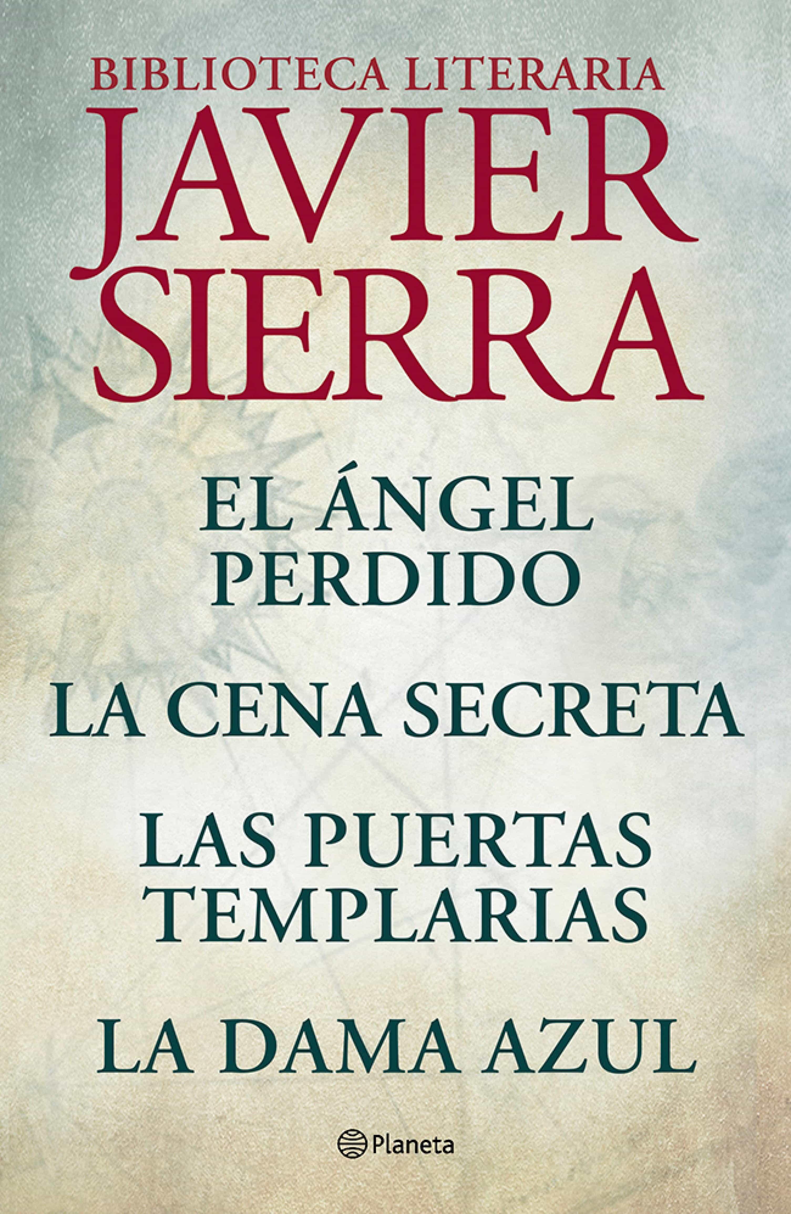 Resultado de imagen de BIBLIOTECA LITERARIA - Javier Sierra