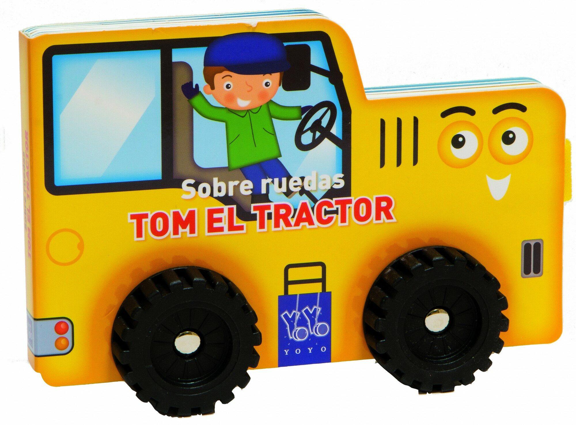 TOM EL TRACTOR (SOBRE RUEDAS)   VV.AA.   Comprar libro 9788408124108