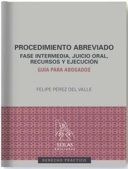 procedimiento abreviado-felipe perez del valle-9788416613908