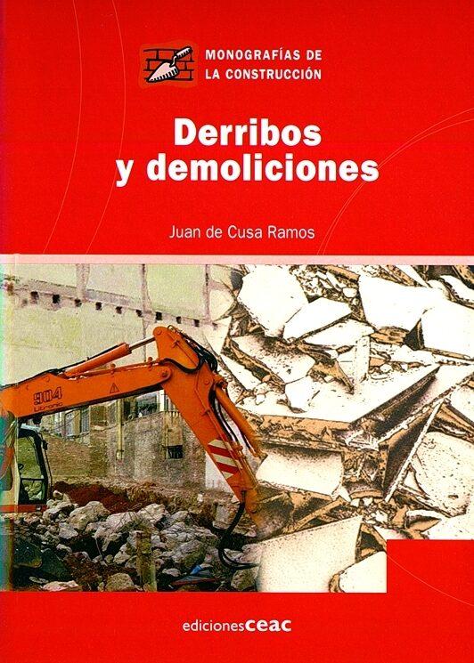 derribos y demoliciones-juan de cusa-9788432930508