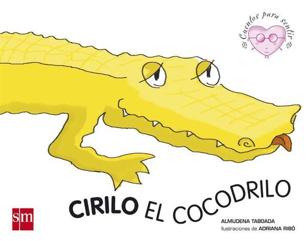 cirilo el cocodrilo-almudena taboada-9788434838208