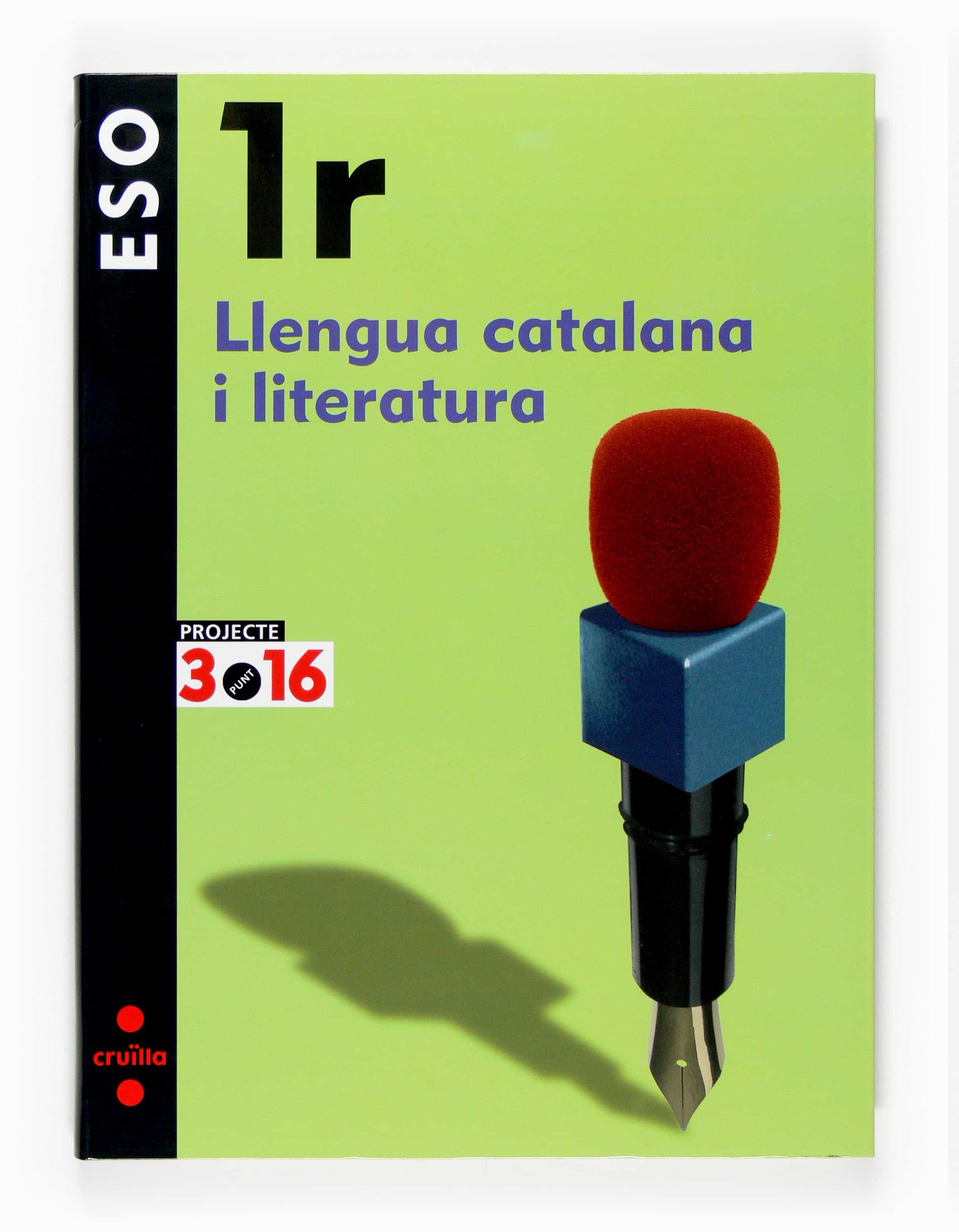 Llengua Catalana I Literatura 1er Eso Projecte 3.16 por Vv.aa. epub