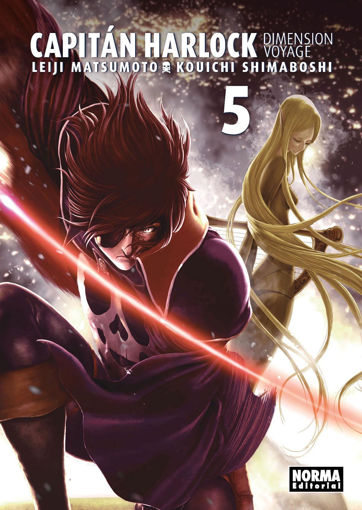 Capitan Harlock: Dimension Voyage 5 por Matsumoto Leiji;                                                                                                                                                                                                          Kouichi Shimaboshi