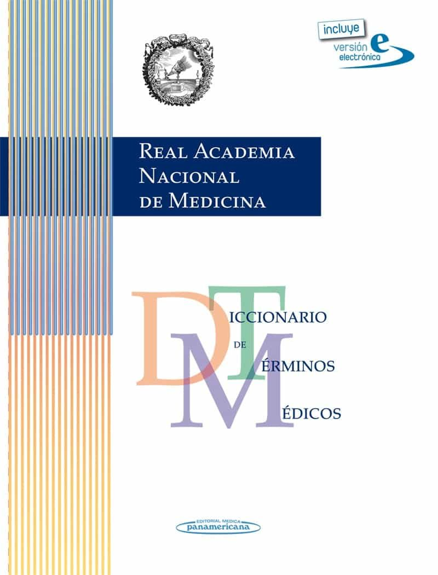 diccionario de terminos medicos (ranm real academia nacional de m edicina) (ed. en papel + electronica)-9788498354508