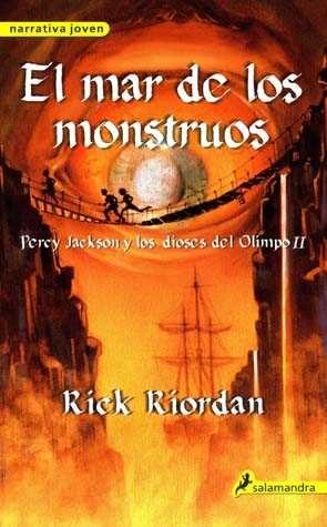 Resultado de imagen para percy jackson y el mar de los monstruos libro