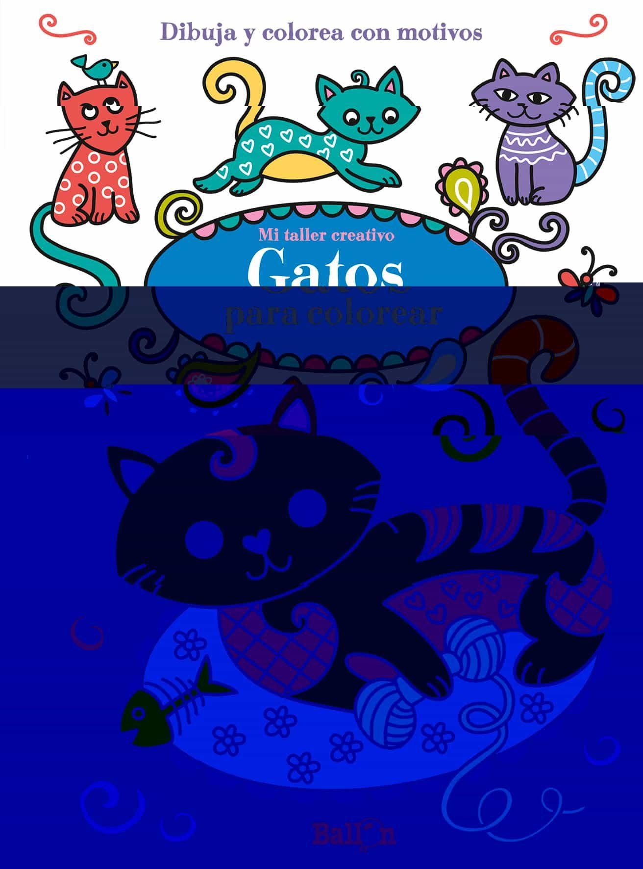 GATOS PARA COLOREAR (MI TALLER CREATIVO) | VV.AA. | Comprar libro ...