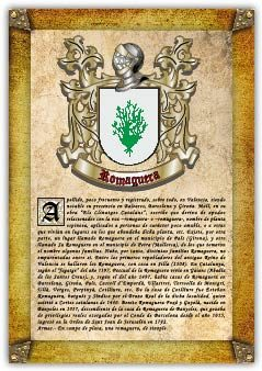 Apellido Romaguera (pdf De Lectura E Impresión)