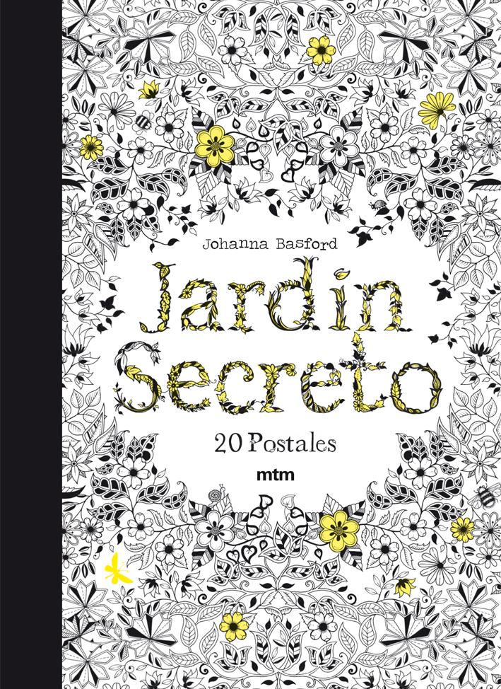Postales De El Jardin Secreto Johanna Basford Comprar Libro