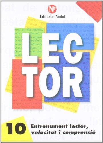 entrenament lector, velocitat i comprensió nº 10 lletra d´imprent a c.m.-9788486545918