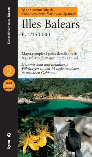 Mapa Ecoturistic Illes Balears 1/150000 (ed. Bilingüe Catalan-ale Man) por Vv.aa. Gratis