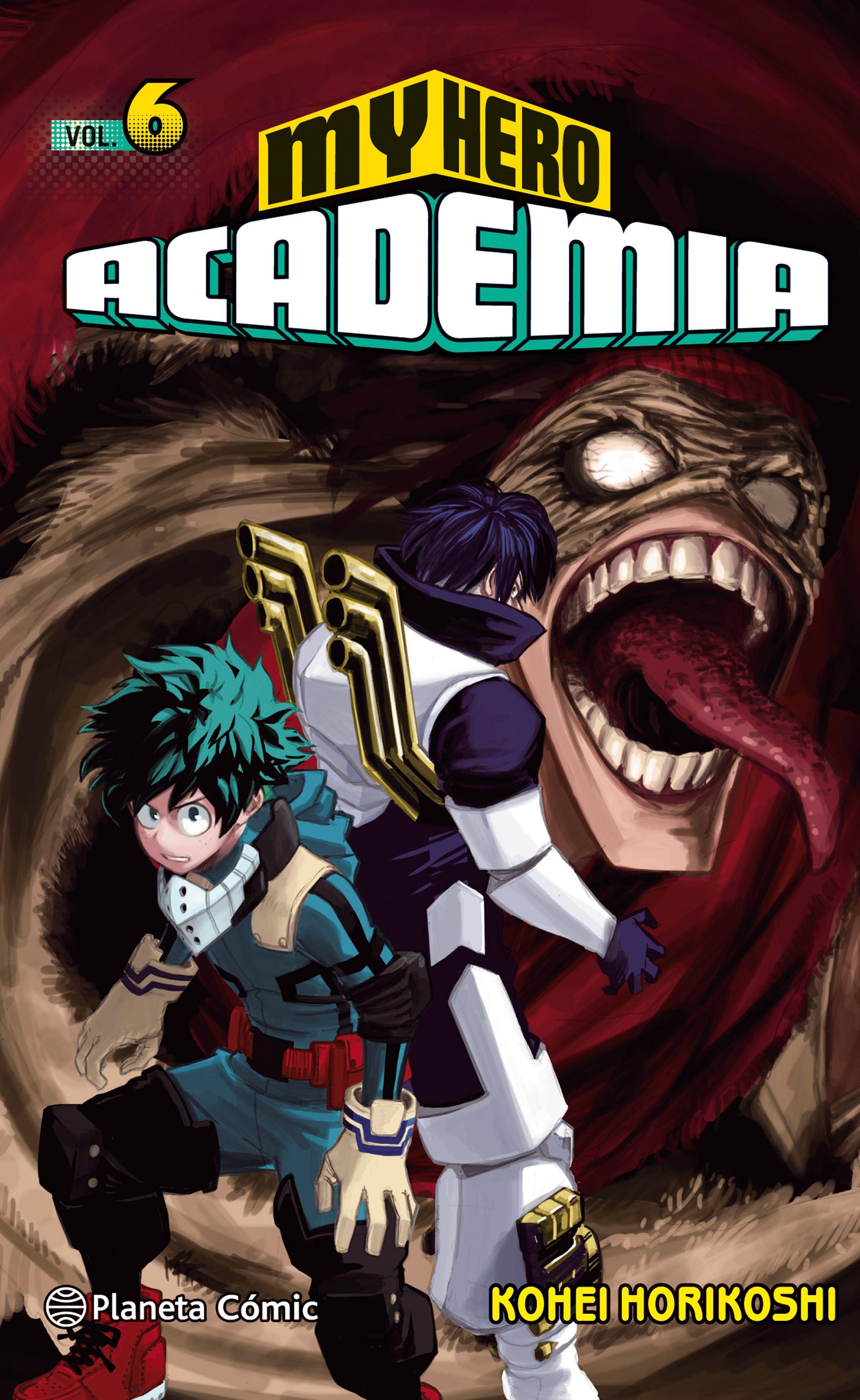 My Hero Academia Nº 06 por Kohei Horikoshi