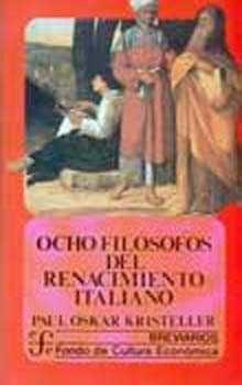 ocho filosofos del renacimiento italiano-9789681619718