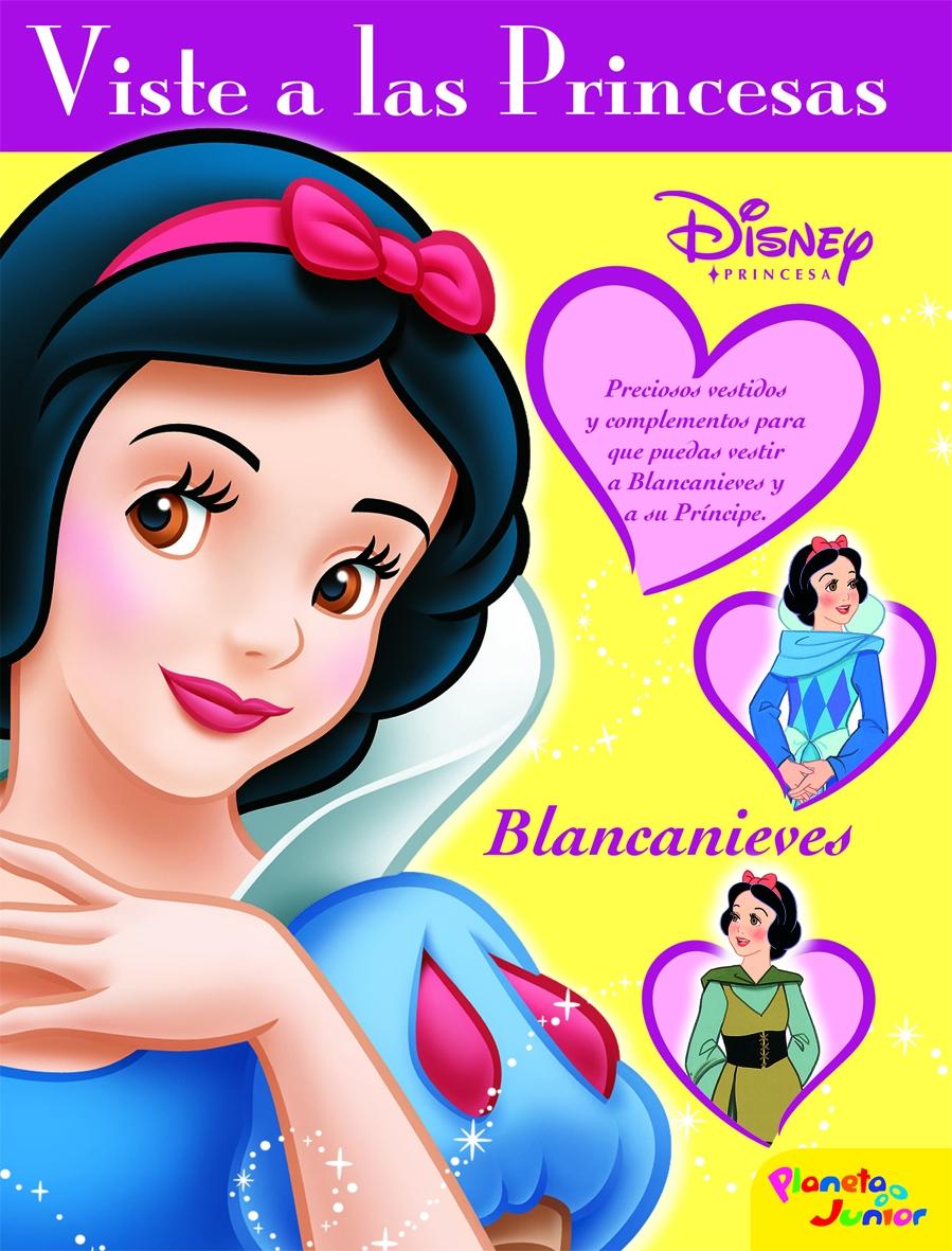 Blancanieves: Viste A Las Princesas por Vv.aa. epub