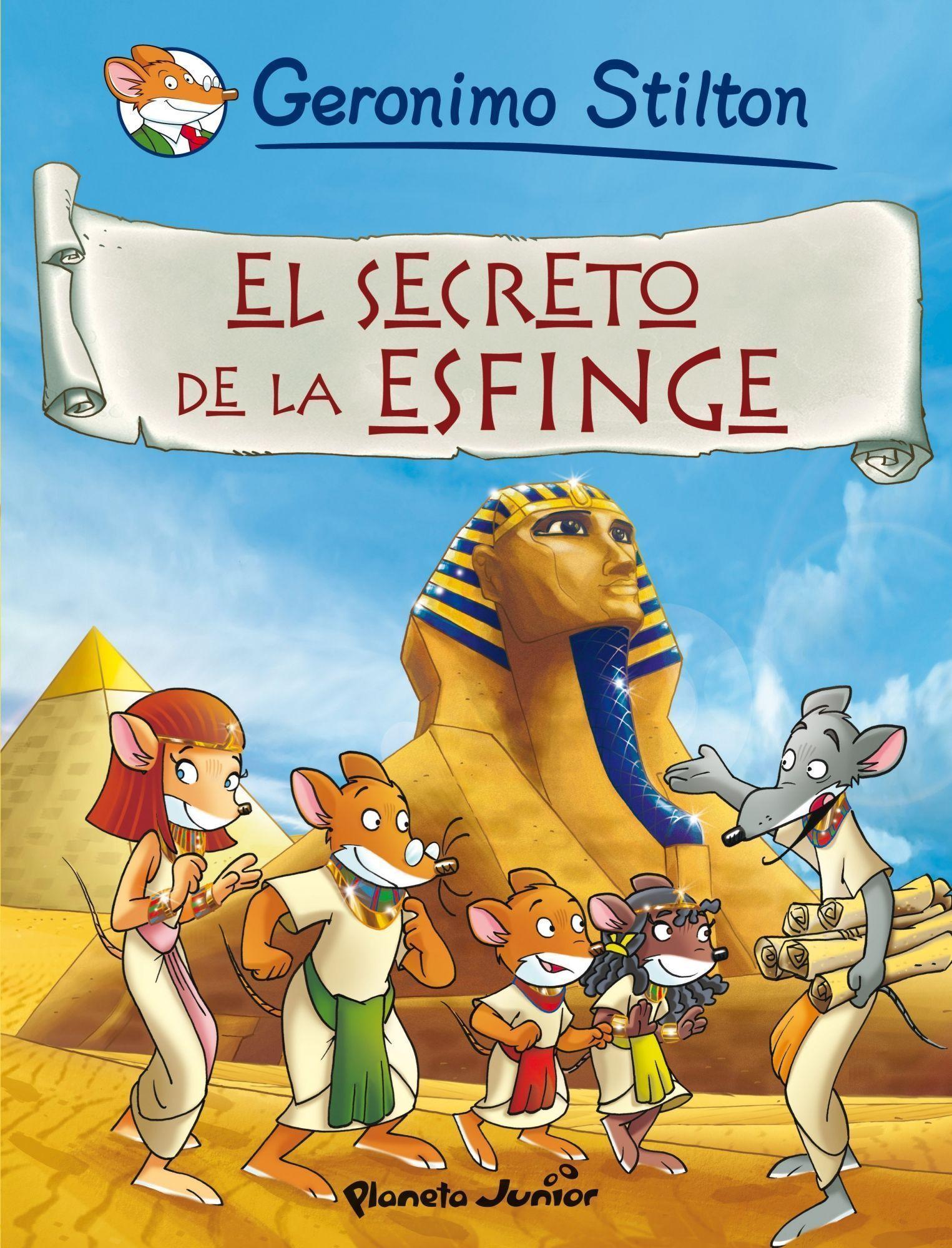 comic geronimo stilton 3: el secreto de la esfinge-geronimo stilton-9788408087328