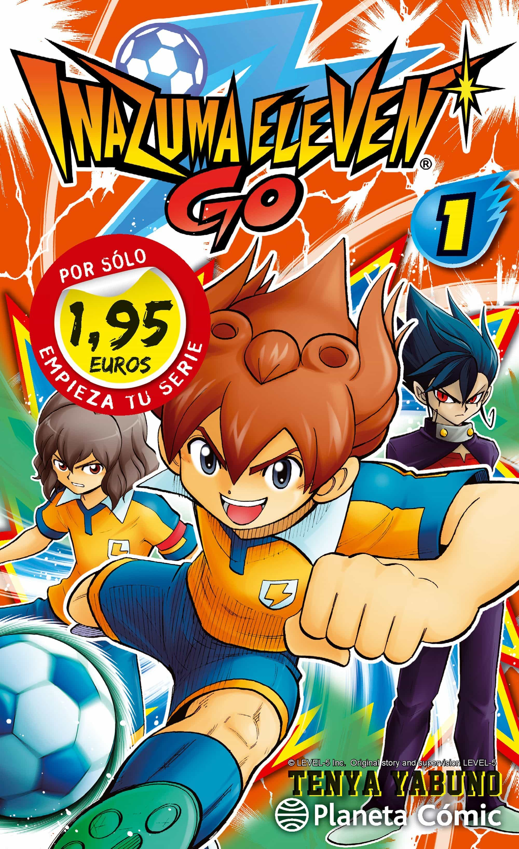 Ps Inazuma Eleven Go 1 por Tenya Yabuno