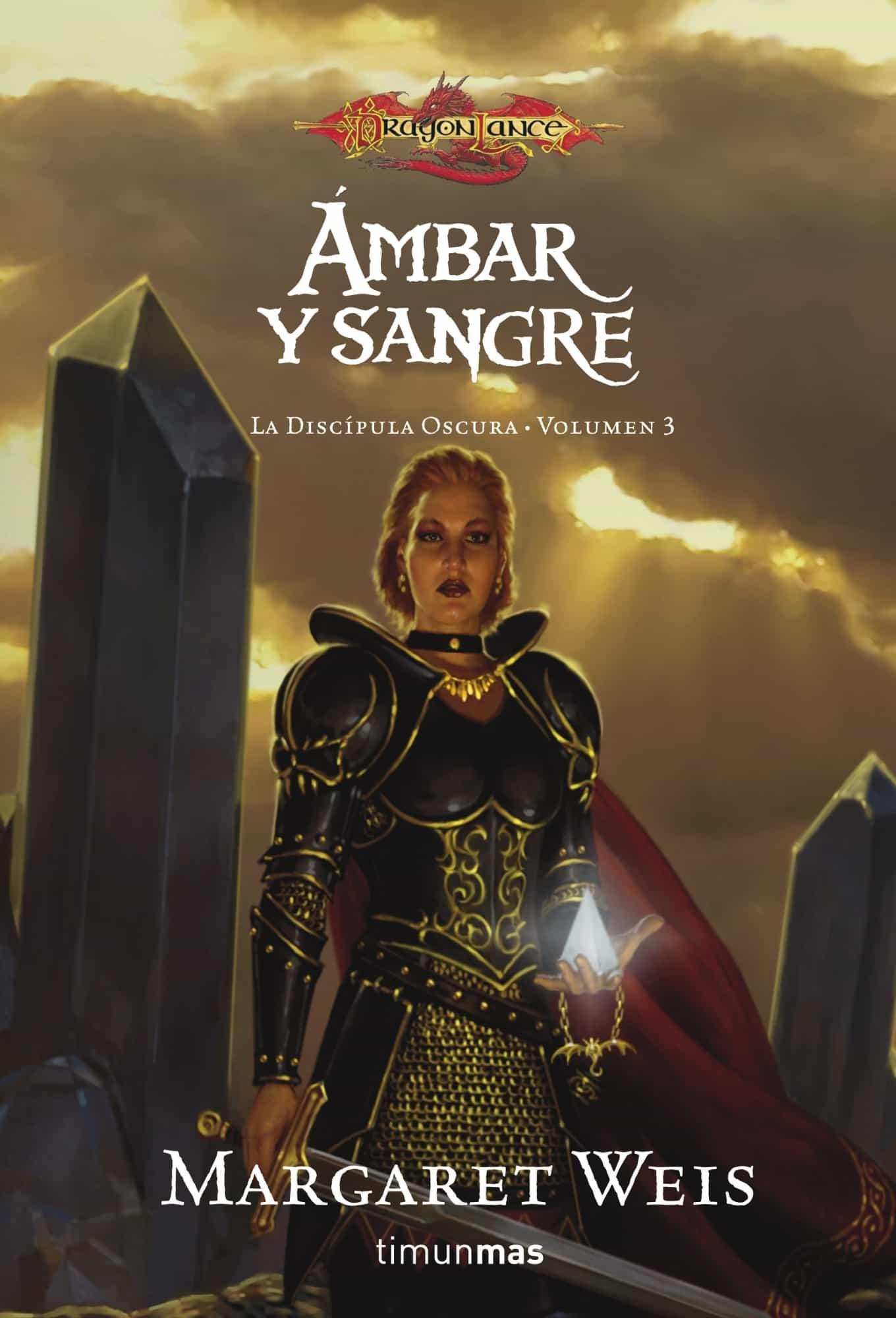 ambar y sangre (discipula oscura 3)-margaret weis-9788448036928
