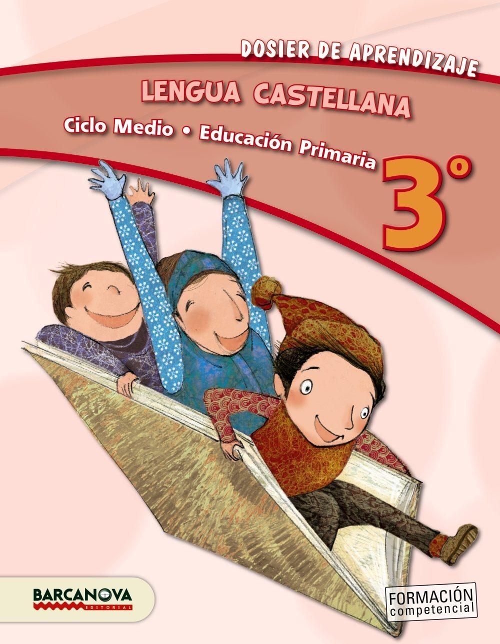 lengua castellana 3º cm. dosier de aprendizaje ed 2013 cataluña/baleares catala-9788448931728