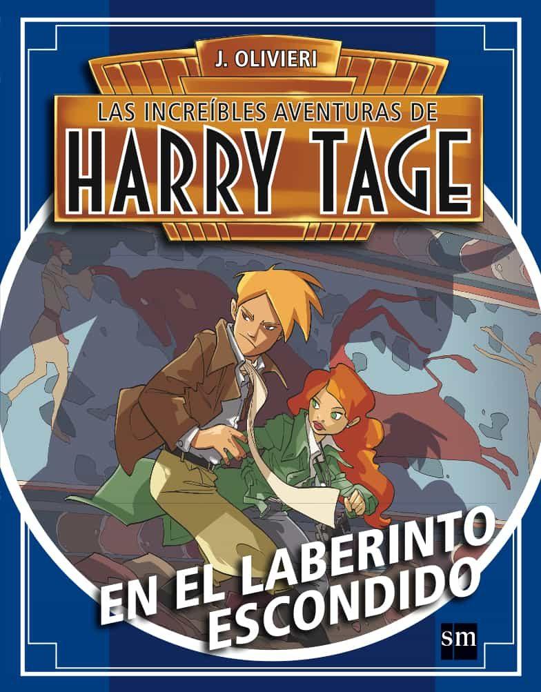 Harry Tage: En El Laberinto Escondido por Jacopo Olivieri