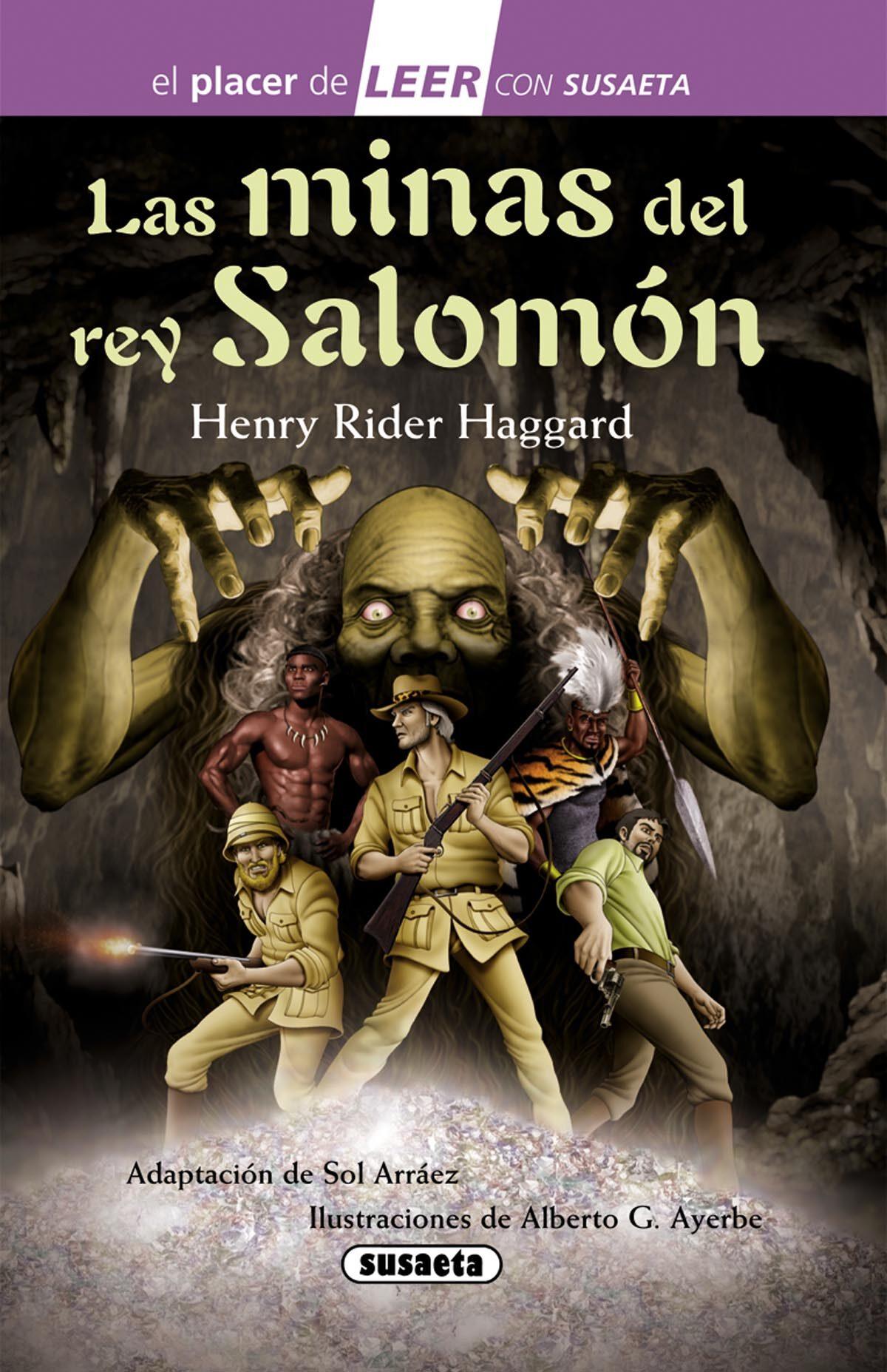 las minas del rey salomon libro bilaketarekin bat datozen irudiak