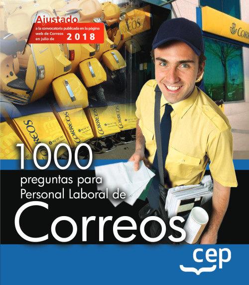 1000 Preguntas Para Personal De Correos por Vv.aa.