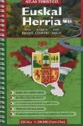 atlas turistico de euskal herria (escala 1:20000/ 1cm=2km)-9788482162928