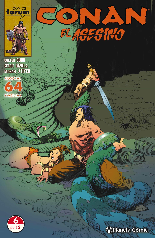 Conan El Asesino Nº 06 por Cullen Bunn;                                                           Sergio Davila