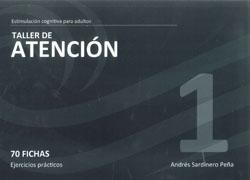 taller 1 atencion: estimulacion cognitiva para adultos 70 fichas ejercicios practicos-andres sardinero peña-9788498961928
