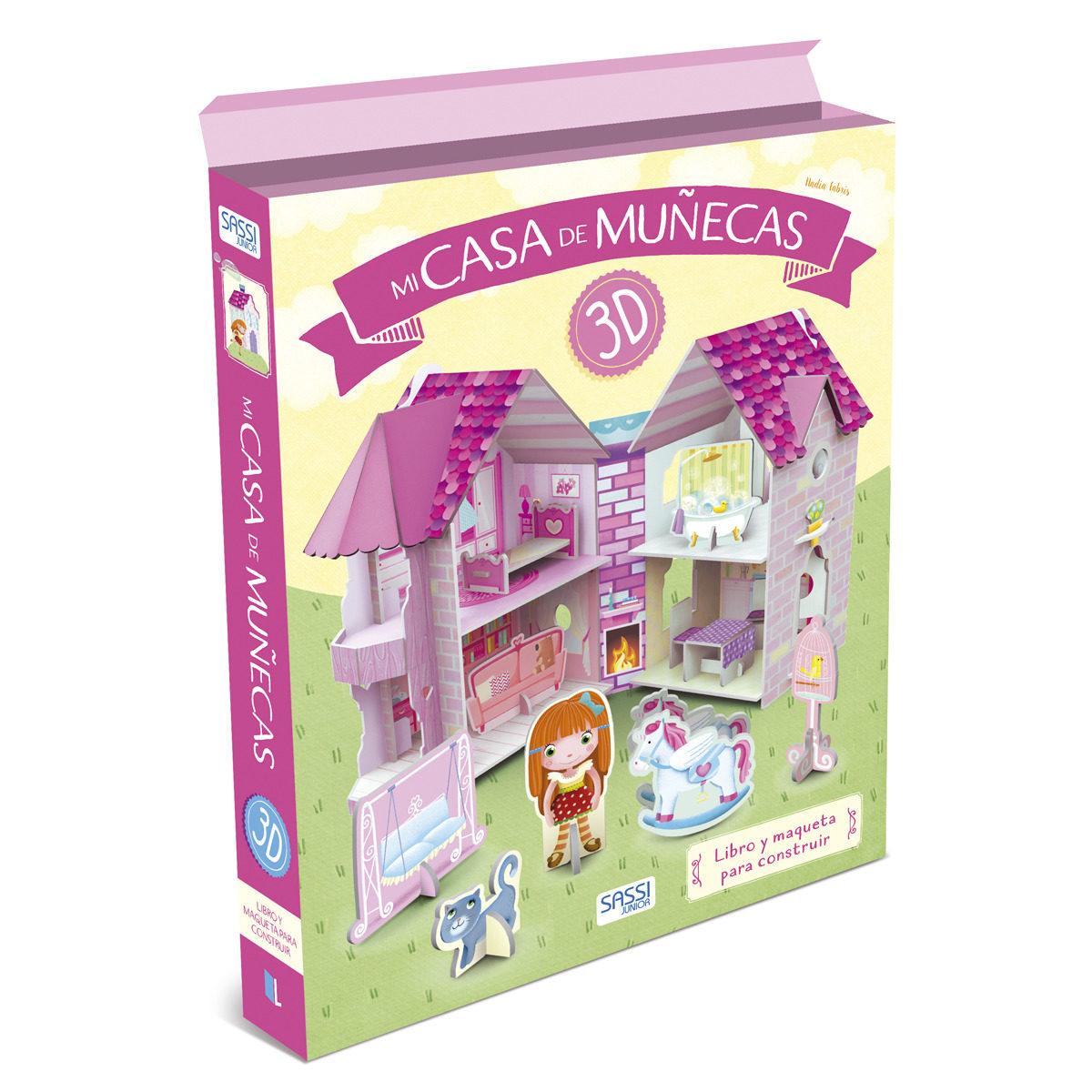 MI CASA DE MUÑECAS EN 3D: LIBRO Y MAQUETA PARA CONSTRUIR | VV.AA ...