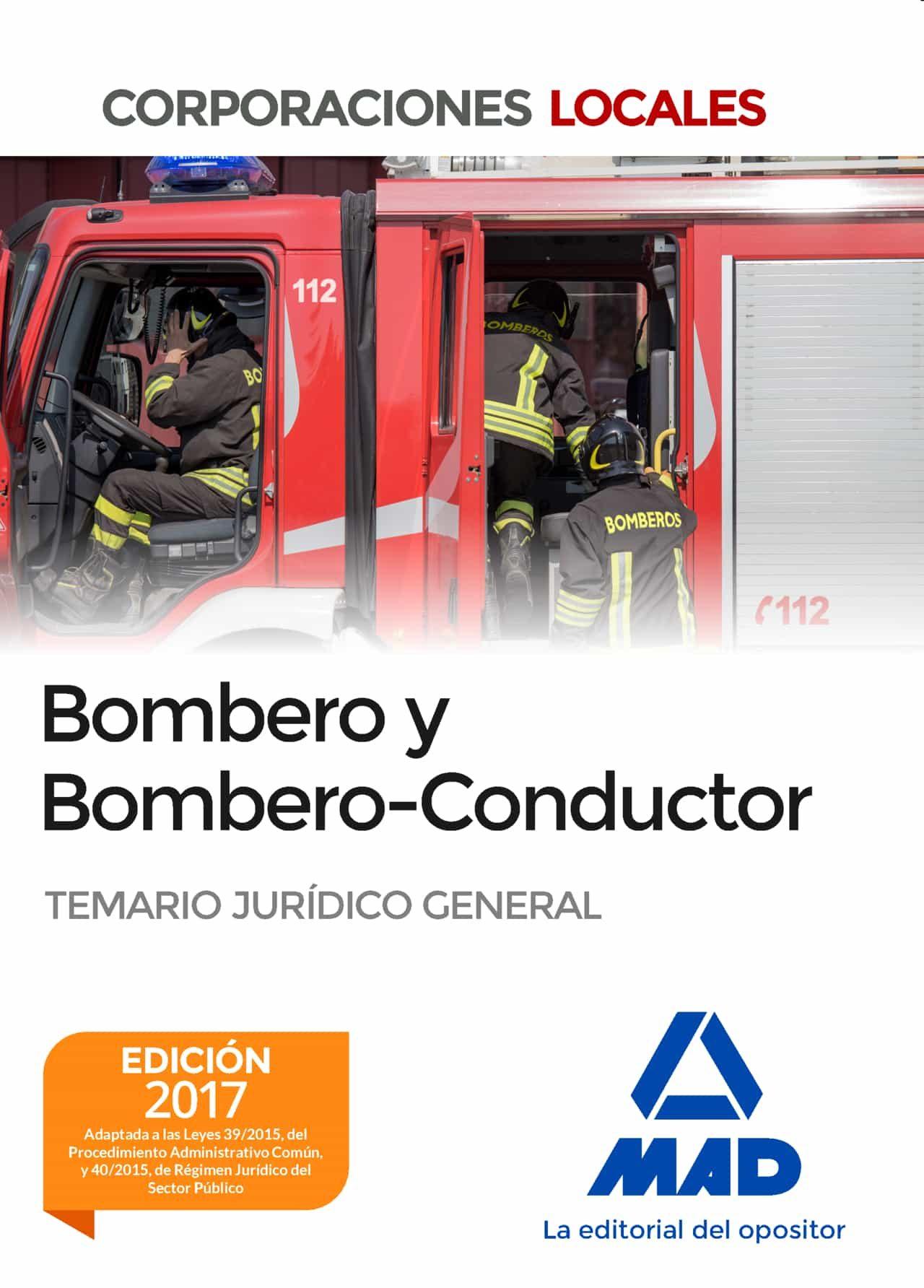 bombero y bombero-conductor. temario jurídico general-9788414202838