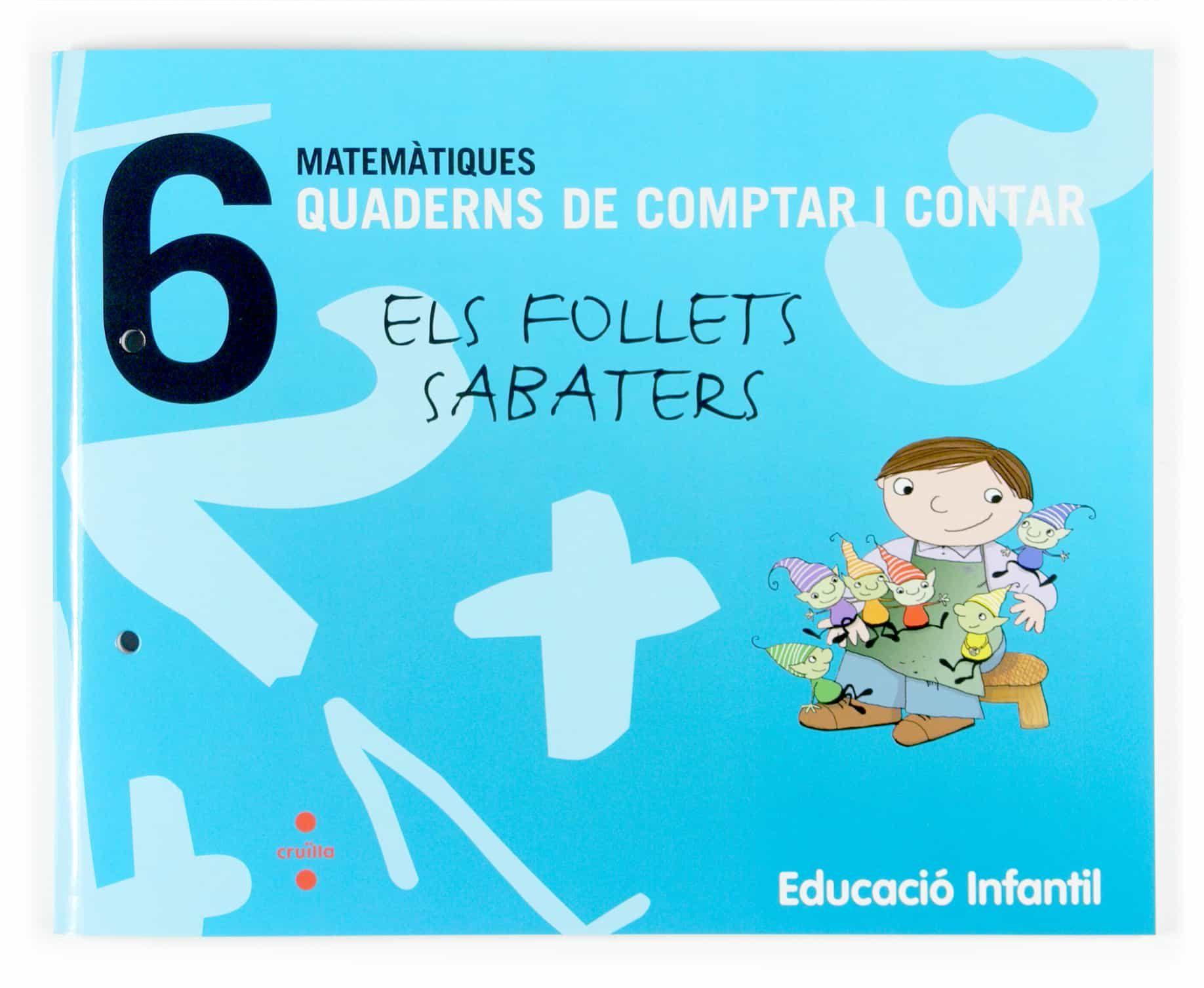 Quadern De Comptar I Contar: Matematiques 6 (p4) por Vv.aa.