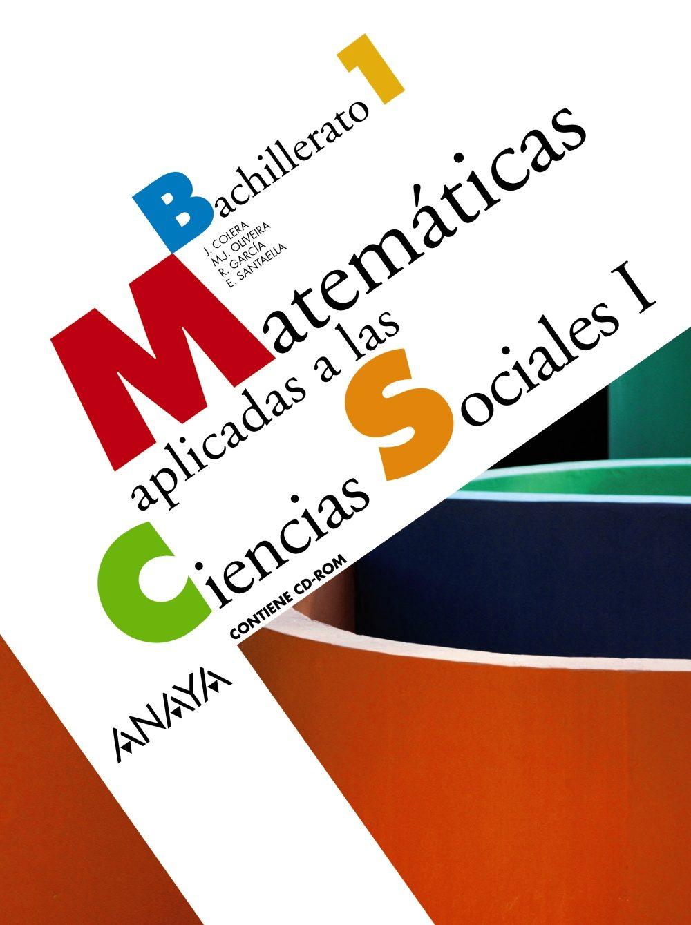 MATEMÁTICAS APLICADAS A LAS CIENCIAS SOCIALES 1º