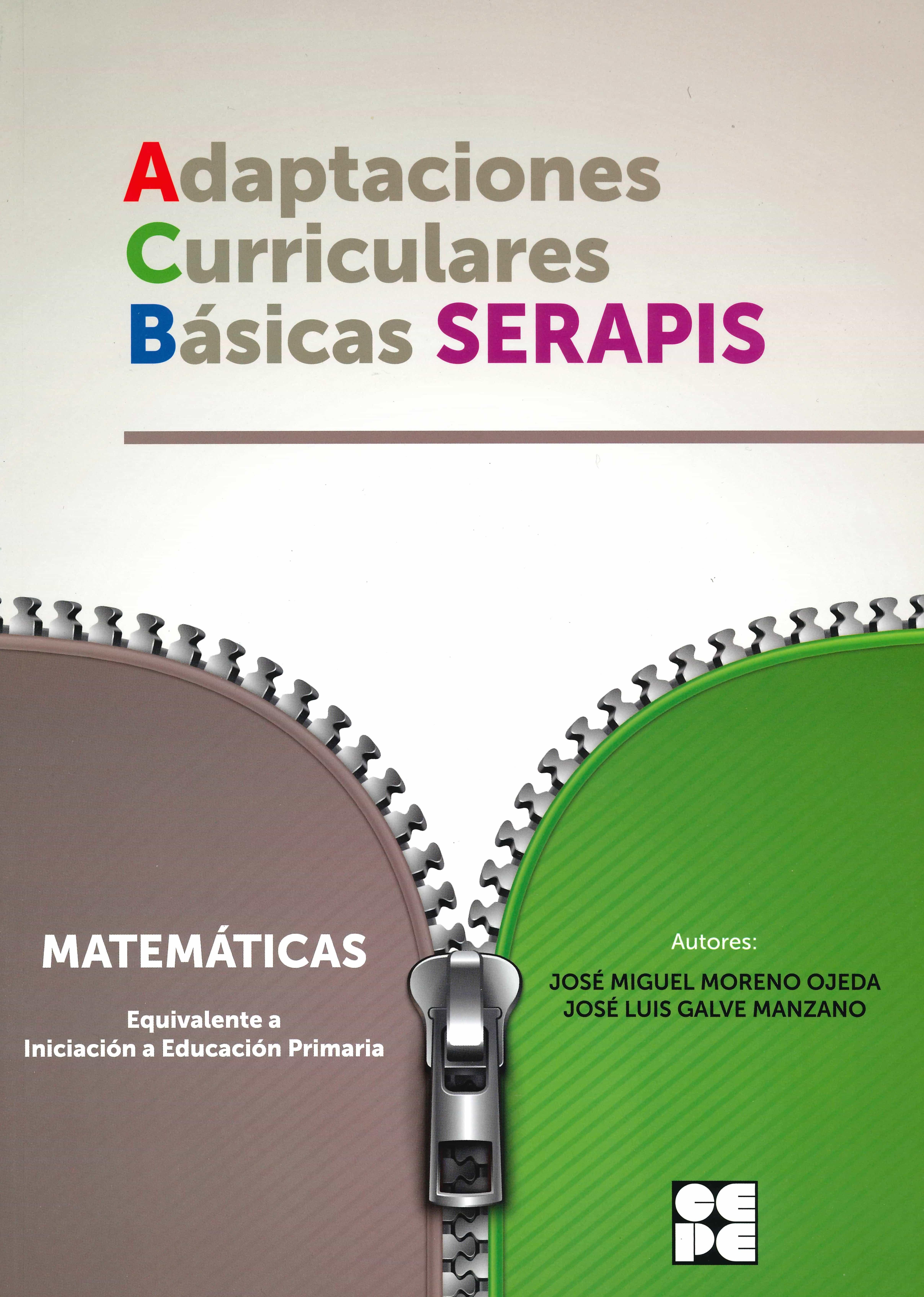 descargar MATEMATICAS - EQUIVALENTE A INICIACION A EDUCACION PRIMARIA. ADAPTACIONES CURRICULARES BASICAS SERAPIS pdf, ebook