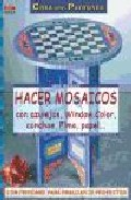 hacer mosaicos con azulejos, window color, conchas, fimo, papel-catherine massey-9788496365438