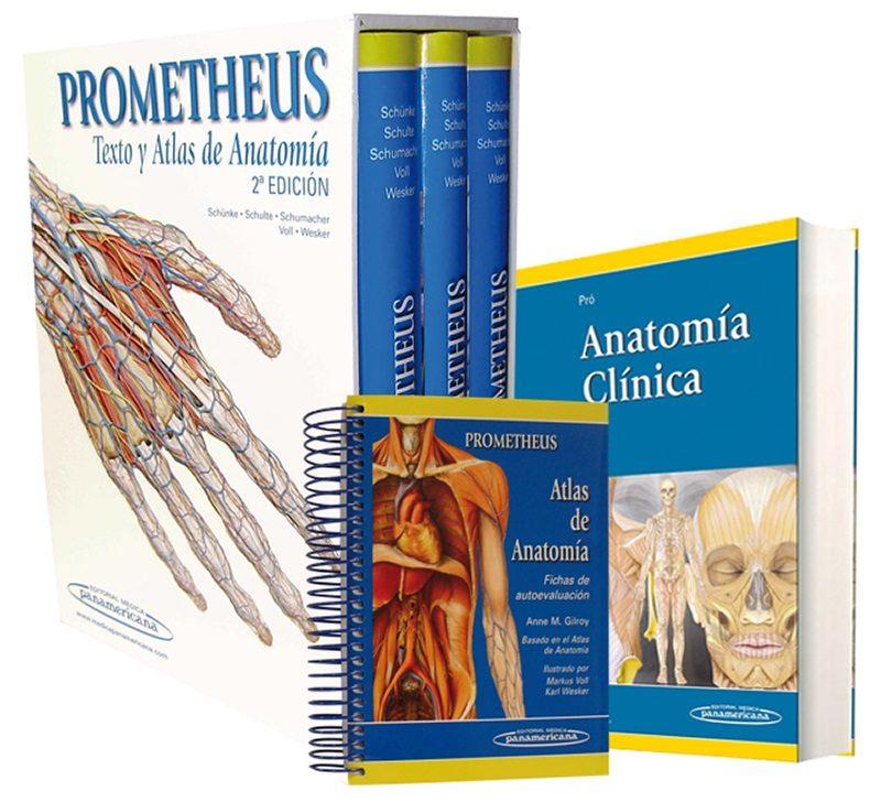 EMP 18: COLECCION PROMETHEUS + PRO ANATOMIA CLINICA + GILROY FICH AS ...