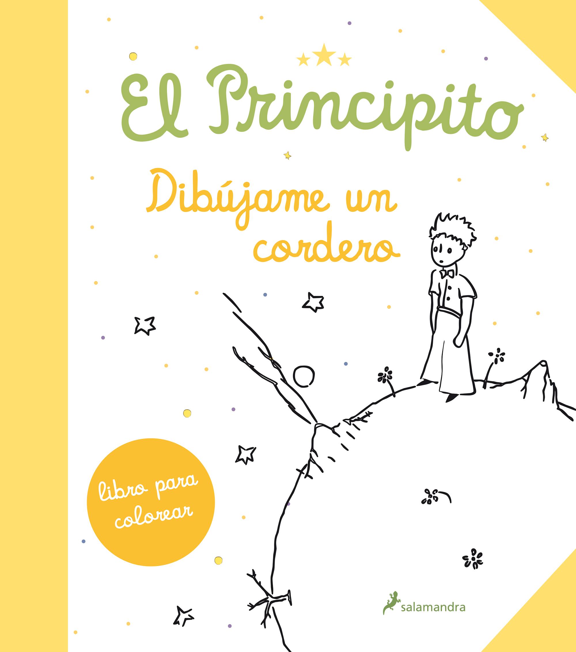 El Principito Dibujame Un Cordero Libro Para Colorear Antoine