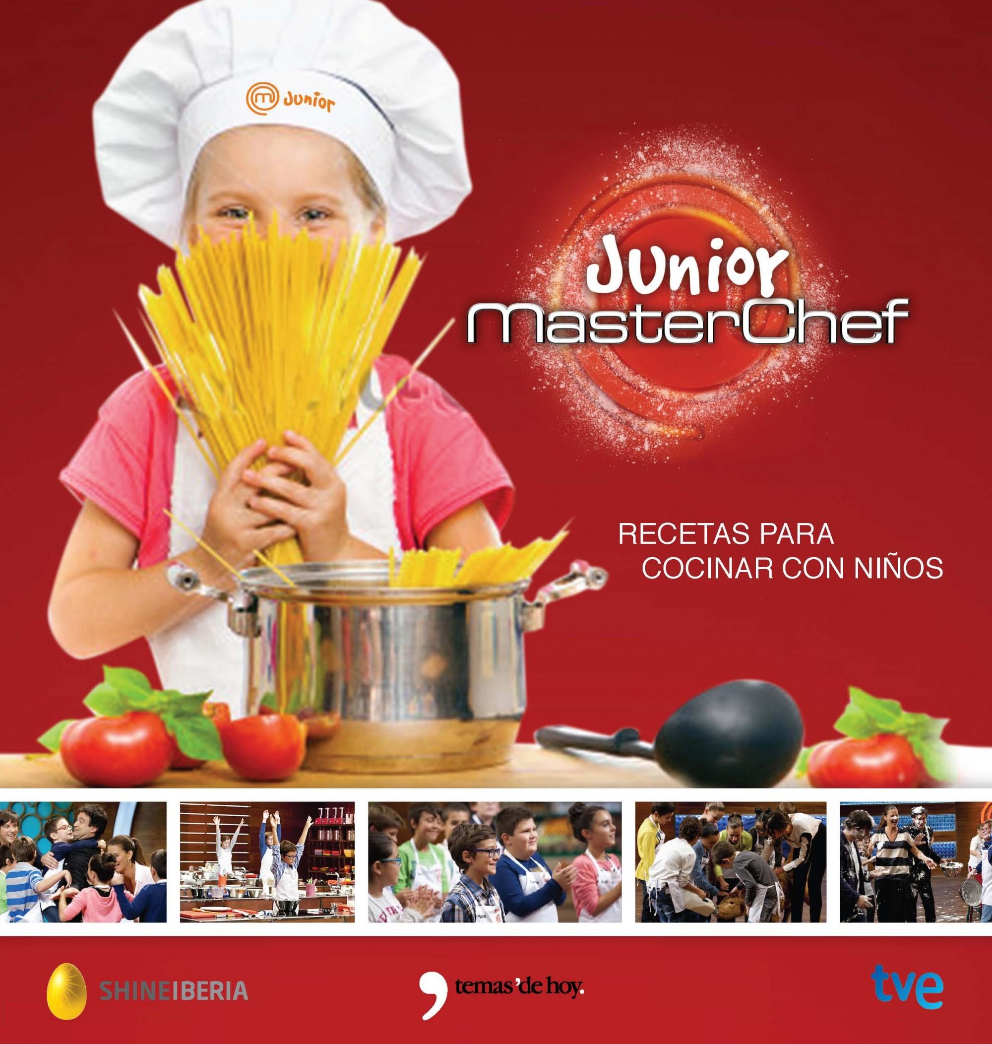 Recetas De Cocina Masterchef | Masterchef Junior Recetas Para Cocinar Con Ninos Vv Aa