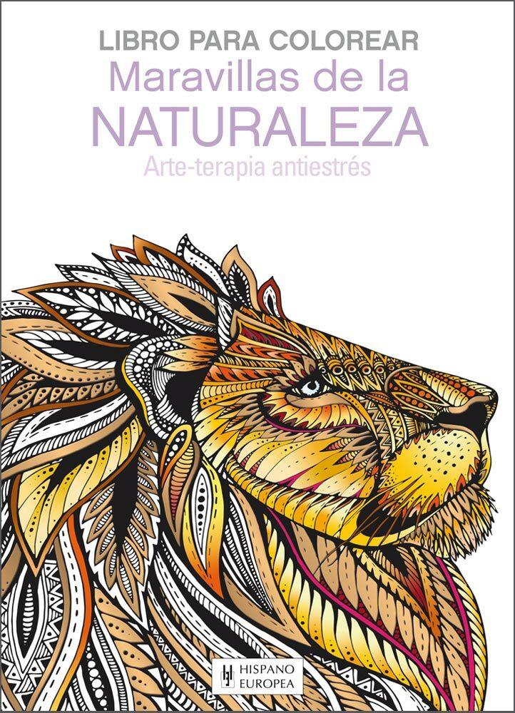 MARAVILLAS DE LA NATURALEZA: LIBRO PARA COLOREAR | VV.AA. | Comprar ...