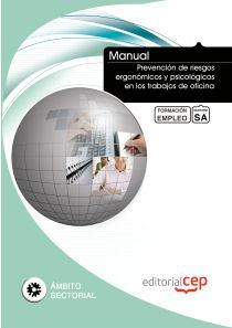 manual prevencion de riesgos ergonomicos y psicologicos en los tr abajos de oficina. formacion para el empleo-9788468129648