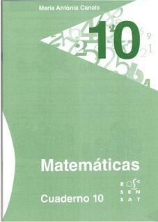 Descargar PDF Matemáticas, Educación Primaria. Cuaderno 10