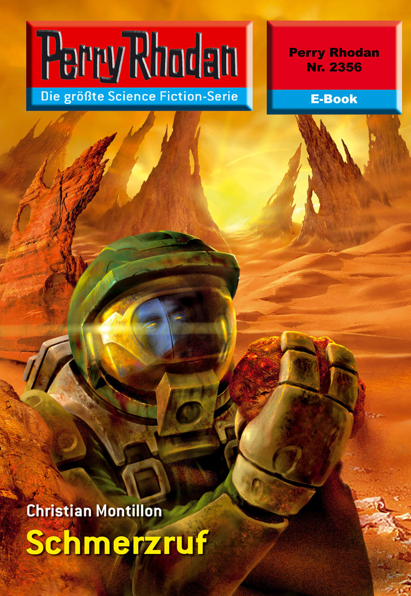 perry rhodan 2356: schmerzruf (ebook)-christian montillon-9783845323558