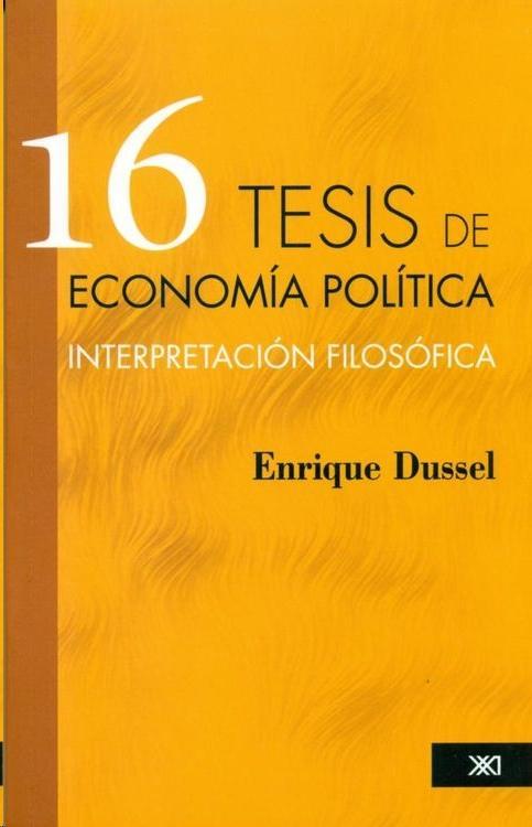 descargar 16 TESIS DE ECONOMIA POLITICA: INTERPRETACION FILOSOFICA pdf, ebook