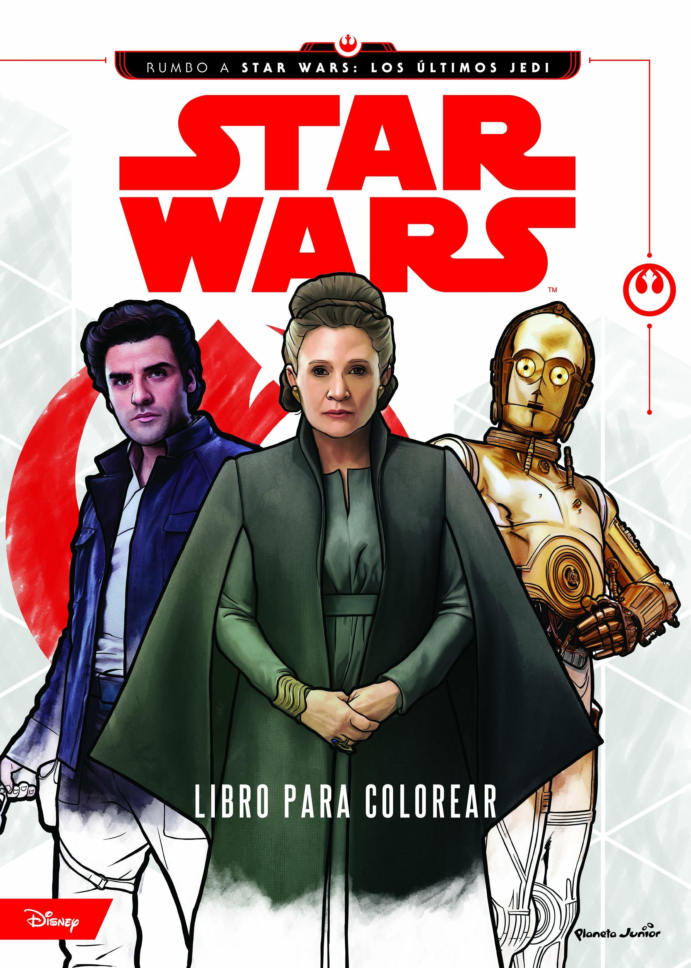 STAR WARS: RUMBO A LOS ULTIMOS JEDI: LIBRO PARA COLOREAR | VV.AA ...