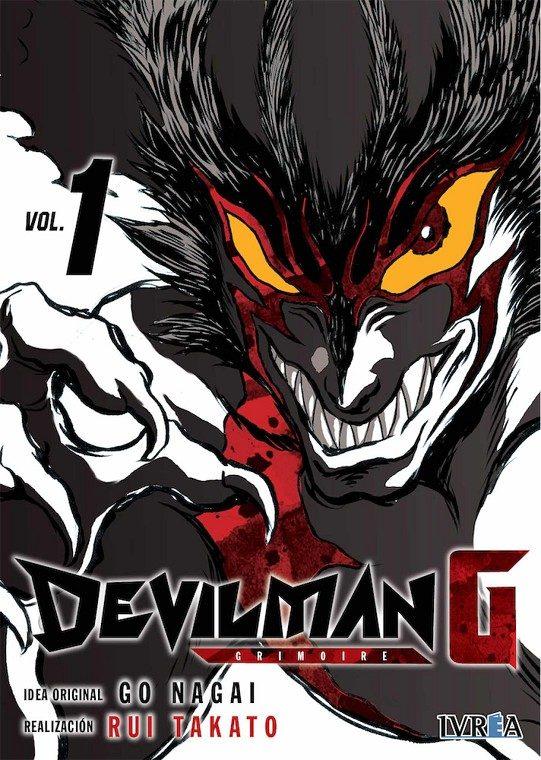 Devilman G Nº 1 por Rui Takato