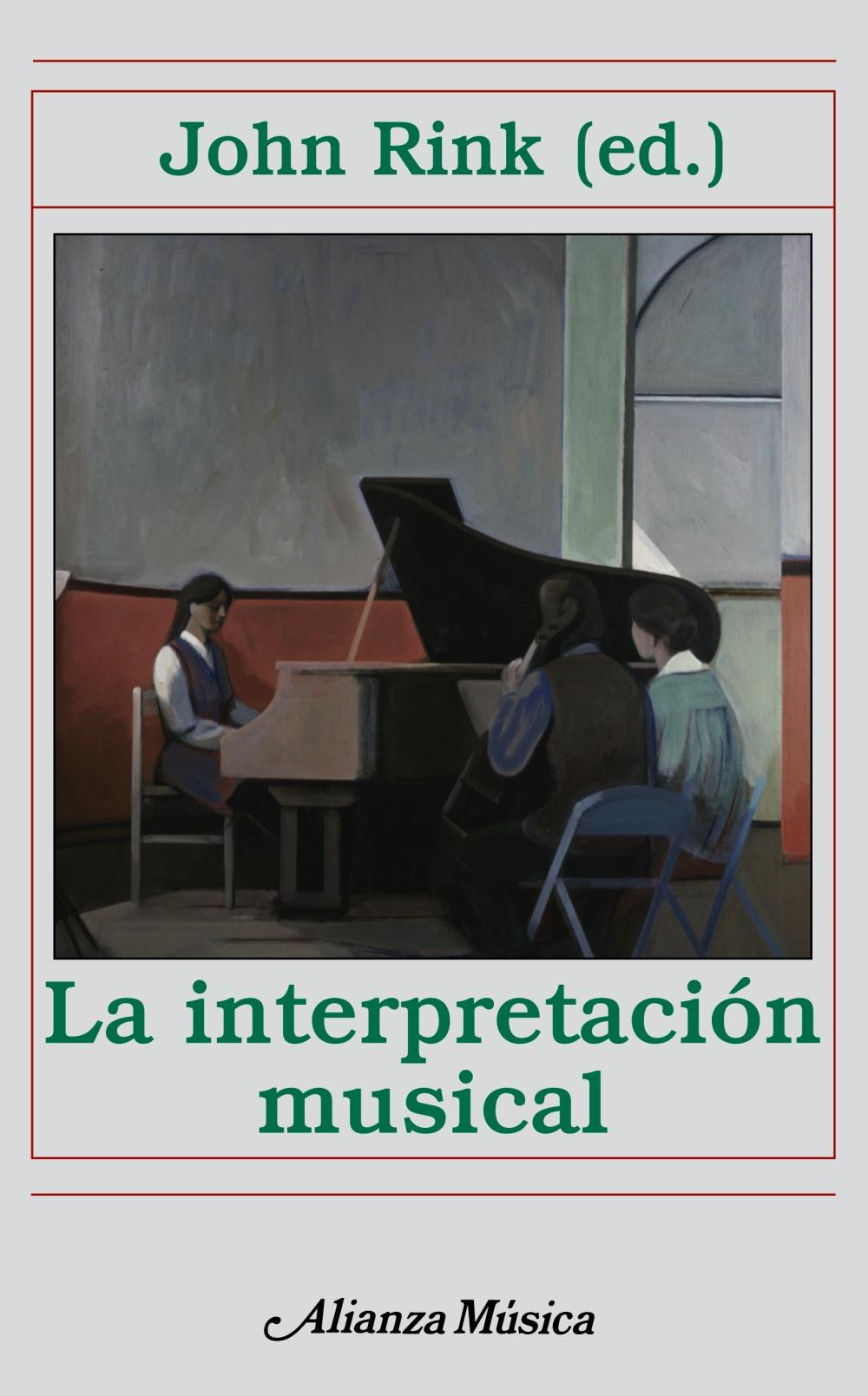 la interpretacion musical-john rink-9788420664958