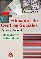 Educador De Centros Sociales: Temario (volumen Iii) por Vv.aa. epub