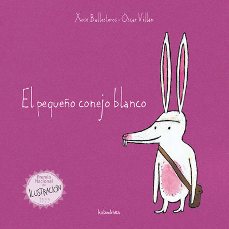 Resultado de imagen de el pequeño conejo blanco